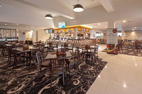 Stay & Play Zack's Restaurant
