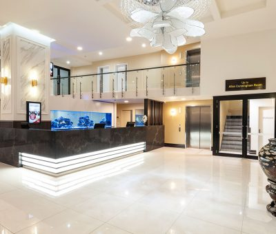 Burke & Wills Hotel Reception
