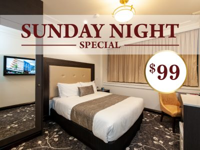 Sunday Night Special at Burke & Wills Hotel